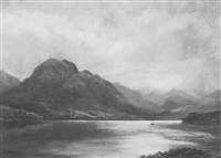 a highland loch by james faed the younger