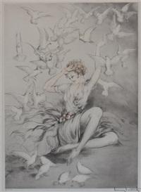 white wings by louis icart