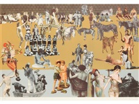 decoupage composition by peter blake