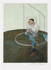 étude pour un portrait de john edwards (study for a portrait of john edwards) by francis bacon