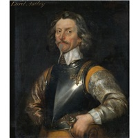 portrait of james astley, first baron astley of reading (1579-1652) by william dobson