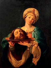 salomé avec la tête de saint jean-baptiste by guido reni