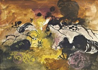 earth crustations, gower peninsular by graham sutherland