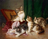 katzenfamilie by daniel merlin