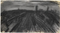 willesden junction by leon kossoff