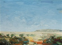 namibian landscape by richard john templeton smith