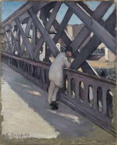 le pont de leurope by gustave caillebotte