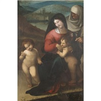 the madonna and child by domenico beccafumi