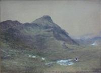 the pentland hills by samuel bough