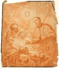 allegorical scene by johann evangelist holzer