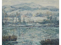 harlem river by ernest lawson