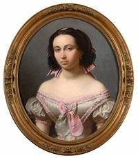 portrait d'une dame de qualité by théodore fantin-latour