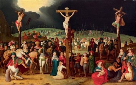 golgotha by louis de caullery