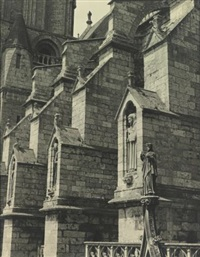 chartres cathedral by charles sheeler