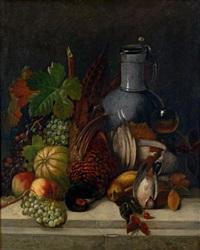 früchtestillleben (pair) by joseph correggio