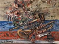 nature morte aux trompettes by alfred aberdam