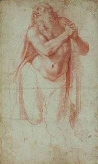 un saint jérôme (study) by girolamo muziano