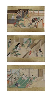 bunsho soshi (the tale of bunsho, the salt maker) (3 works) by anonymous-japanese (18)