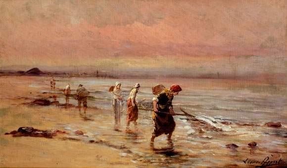 les ramasseurs de crevettes by leonce appert