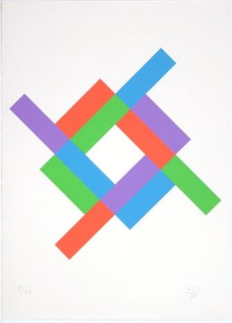 rhythmus um ein weißes quadrat by max bill
