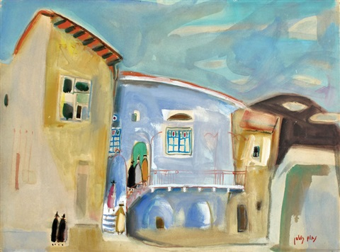 figures in neve tzedek by nachum gutman