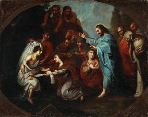 the raising of lazarus by miguel cabrera