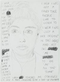 i wish ... (self-portrait) by elke silvia krystufek