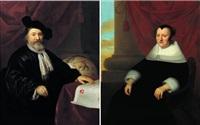 portraits de monsieur andreas winius et de son épouse geertruyd van rijn by isaac luttichuys