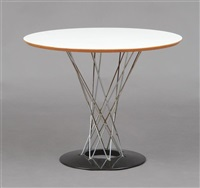 'cyclone' dining table by isamu noguchi
