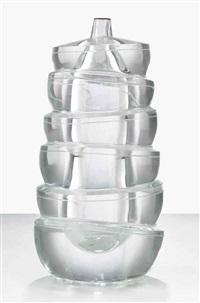 cristallo sommerso n. 46 - scolpito by yoichi ohira