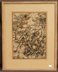 herkules tötet die molioniden by albrecht dürer