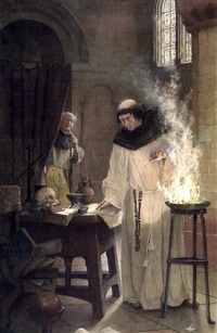 the alchemist by william permeanus cornish