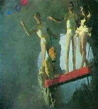 les trapezistes by dmitri i. shmelyov