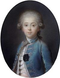 portrait de louis - antoine d'artois, duc d'angoulême by joseph boze