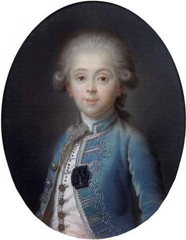 portrait de louis antoine dartois duc dangoulême by joseph boze