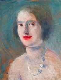 portrét dámy by rudolph kremlicka