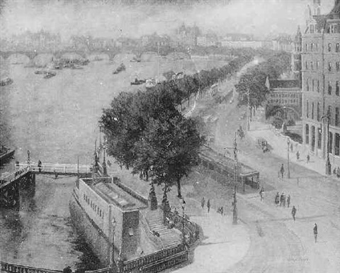 a view of the embankment by john edmund mace