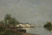 la seine à rouen by stanislas lépine