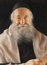 smiling rabbi by otto eichinger