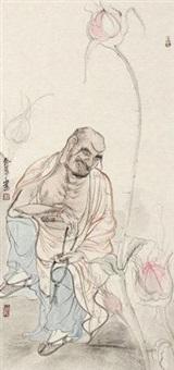 罗汉图 by liang yu