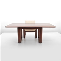 limited edition chair and desk with 2 drawers by burkhard vogtherr
