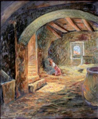 mère et enfant dans un intérieur by marius barthalot