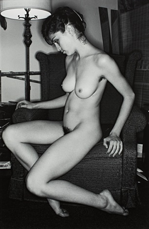 nude madonna by lee friedlander