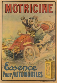motricine/essence pour automobiles by j.l. lesourd