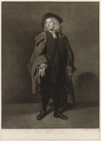 mr moody as foiguard mr moody comedian 2 works by giuseppe marchi by johann joseph zoffany