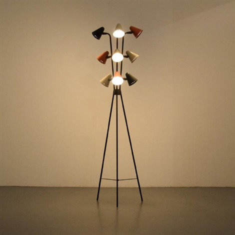 Lightolier Floor Lamp Attributed to Gino Sarfatti by Gino Sarfatti ...