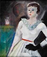 portret kobiety by janusz maria brzeski