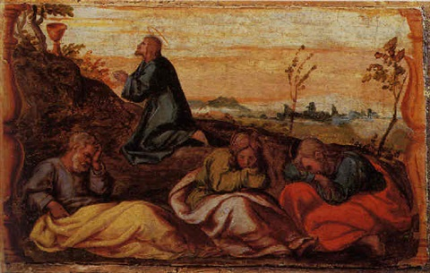 christ washing the disciples feet by romanino girolamo romani