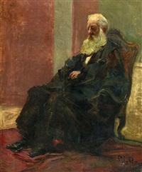 портрет в.в.стасова by il'ya repin
