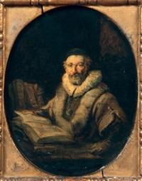 portrait de nicolas ruts by aert de gelder